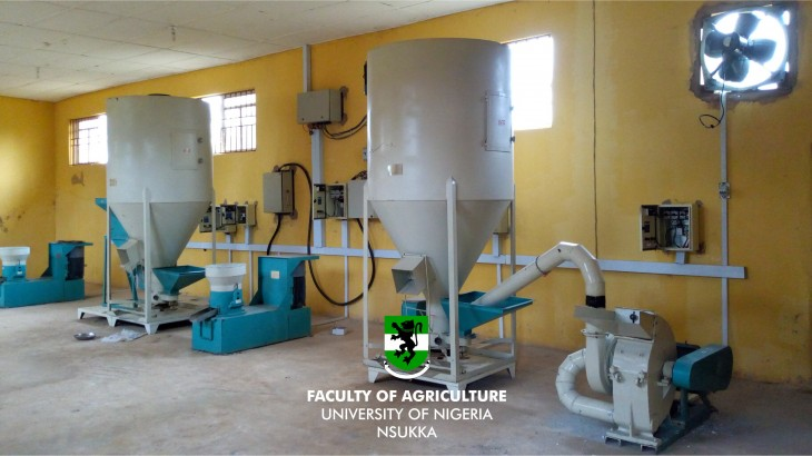 1,000 kg per hour capacity feed mill