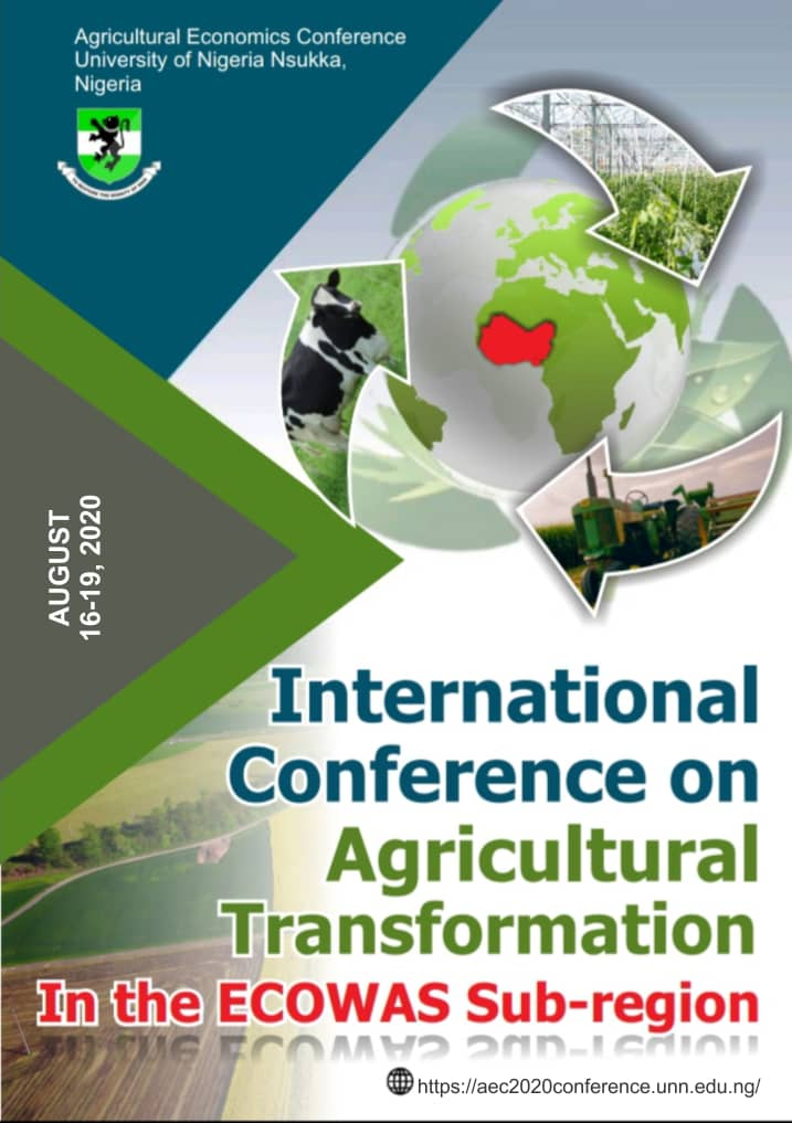 INTERNATIONAL CONFERENCE ON AGRICULTURAL TRANSFORMATION IN THE ECOWAS SUB-REGION…….