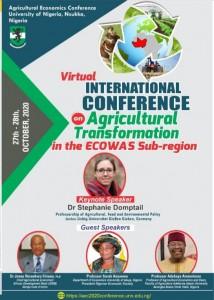 Agricultural Economics Conference 2020.