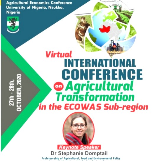 Virtual International Conference on Agricultural Transformation in the ECOWAS Sub-Region
