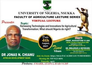 Faculty Of Agriculture Lecture Series